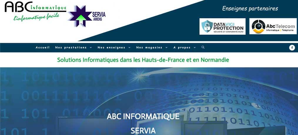 Création de site internet ABC Informatique